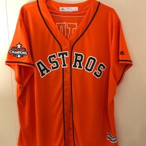 Astros championship jersey 2017. ALTUVE